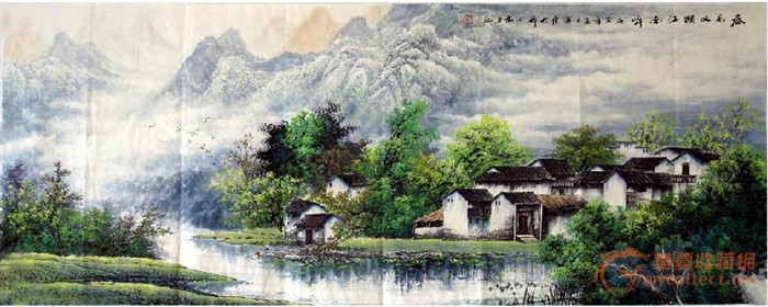 刘运东·小六尺江南山水