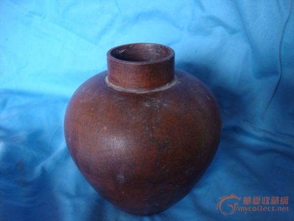 王南林款紫砂茶叶罐图片