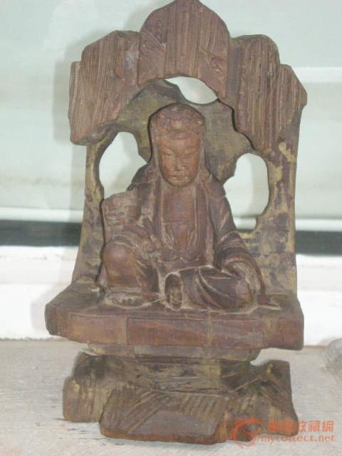 金丝楠木佛像