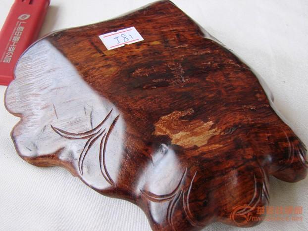 全身芝麻纹的越南黄花梨树根摆件