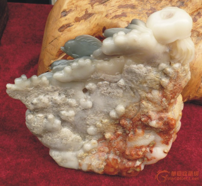 海底世界(寿山石)——巧雕
