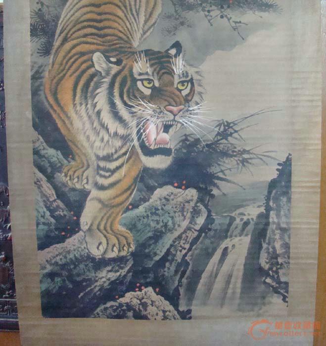 老画下山虎_老画下山虎价格_老画下山虎图片_来自藏友
