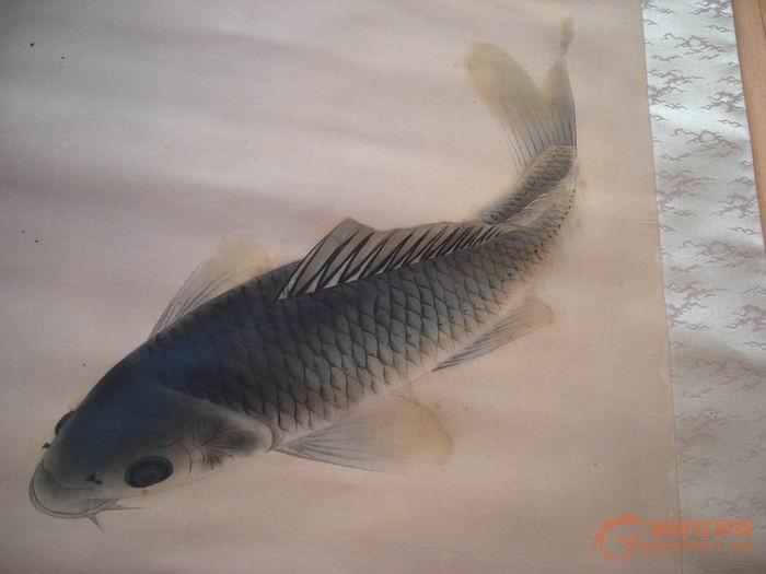 看工笔画鲤鱼的画法图片展示图片