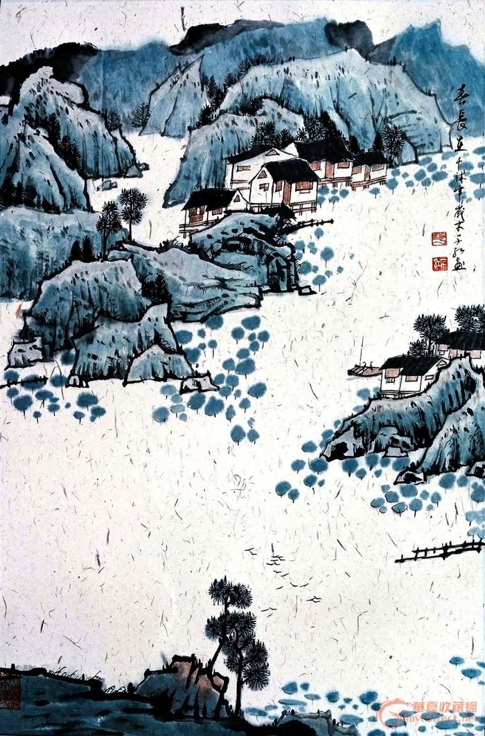 中国山水画_中国山水画价格_中国山水画图片_来自藏友