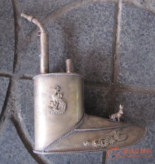 白铜 水烟袋 白铜 水烟袋价格 白铜 水烟袋图片 来自藏友秀宝古玩 cang.图片