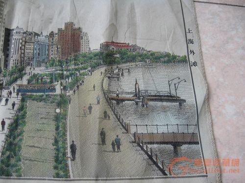 上海外滩织锦