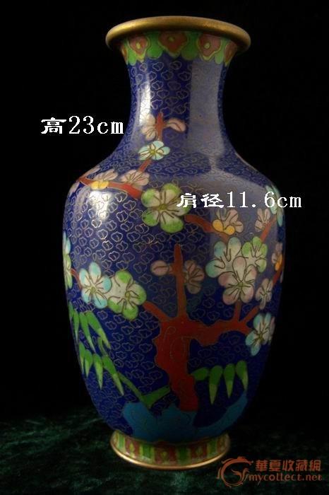 民国 景泰蓝花瓶
