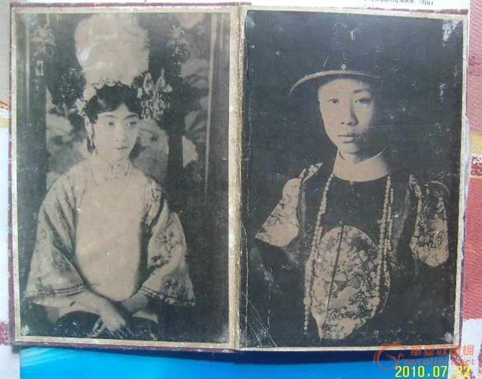 清宫旧照一册10张_清宫旧照一册10张价格_清