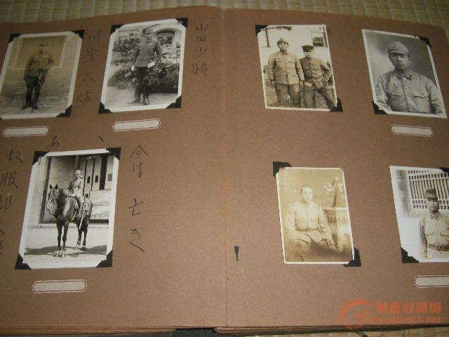 民国侵华日军侵占山东青岛老相册210张照片