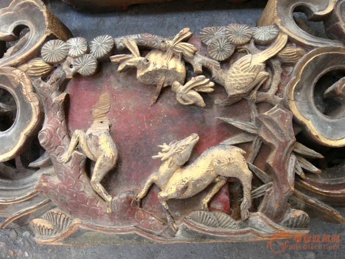人物.动物木雕