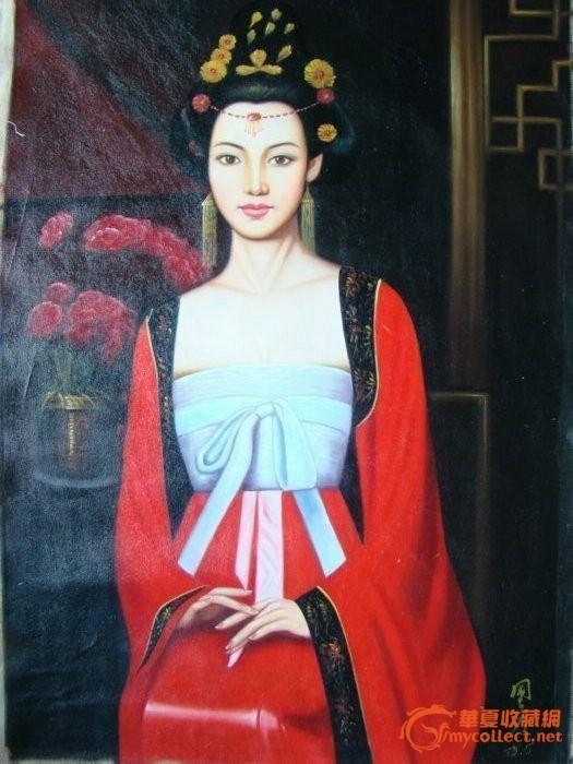古典美女油画 图2