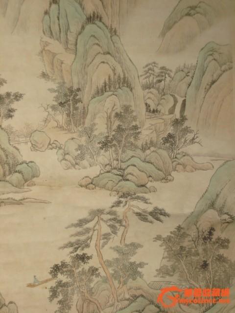 青绿山水画