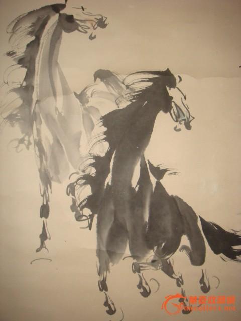 美术画马的步骤