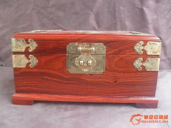 红木首饰盒-图2