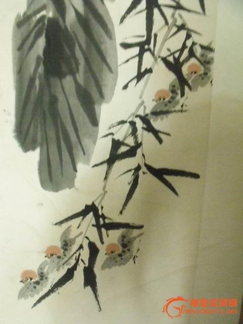 室内手绘单体芭蕉