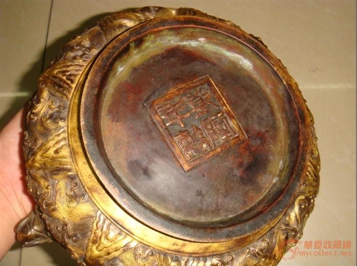 八仙过海铜香炉