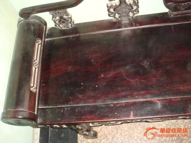老红木床《波罗格木》贵妃床