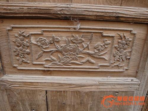 古董木艺木雕花板,古老门窗明清家具