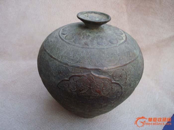 紫铜 酒壶 和田玉