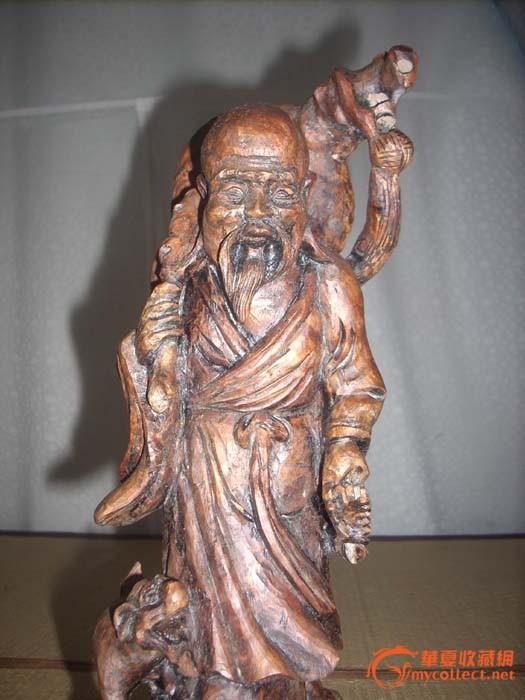 木雕像一个-图3