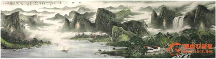 唐景文·小丈二国画山水精品·家乡的春天