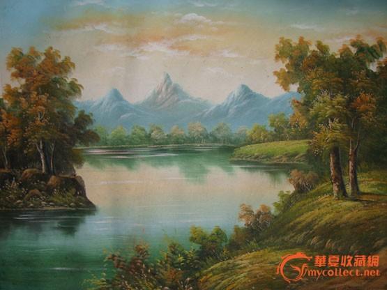 油画风景_油画风景价格_油画风景图片_来自藏友西湖