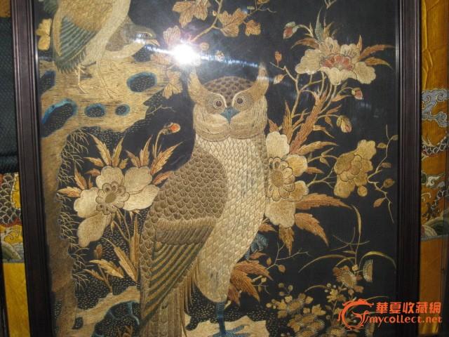 刺绣,花鸟