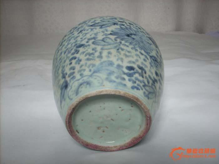 陶瓷 其它 明代花纹罐