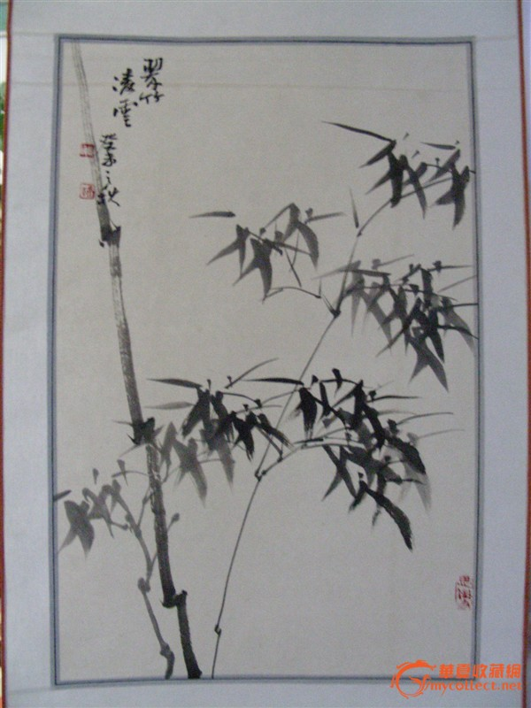 铅笔画的竹子图图片展示_铅笔画的竹子图相关图片下载