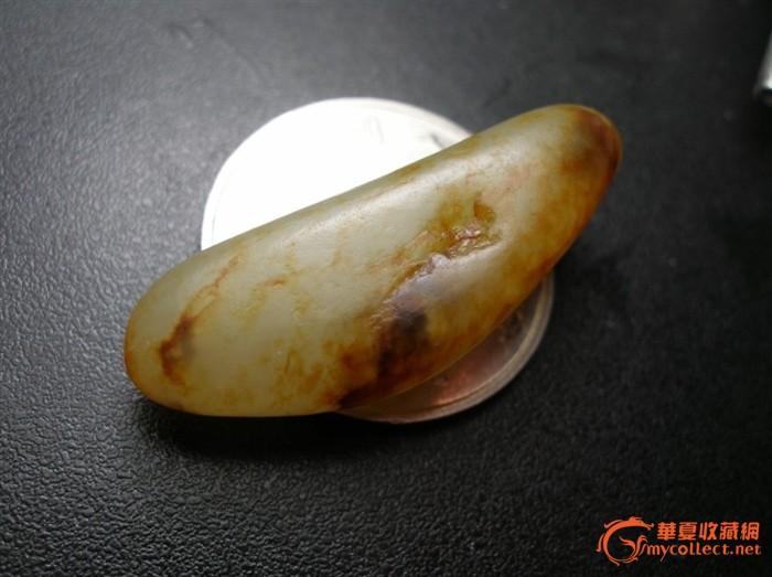 新疆和田玉籽料 金 小籽