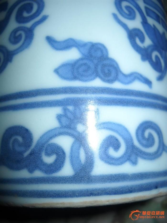 淡蓝色陶瓷花纹贴图