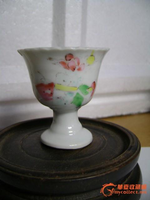 青花花卉碗