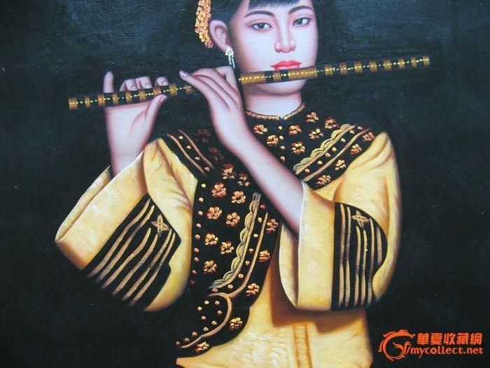 4149油画-吹笛子的女子(11)-4149油画-吹笛子的女子(11)价格-4149油画-吹笛子的女子(11)图片,来自藏友mjj0919-字画-地摊交易-华夏收藏网
