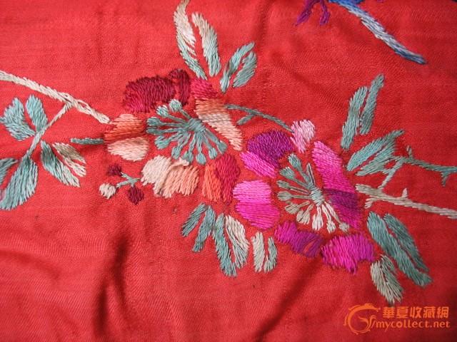 双飞燕刺绣