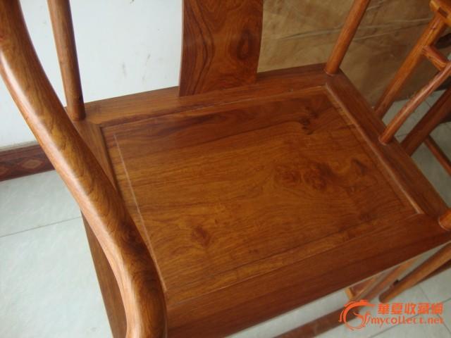 【仿古家具】花梨木明式圈椅一对