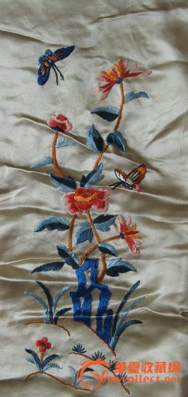花鸟图大刺绣