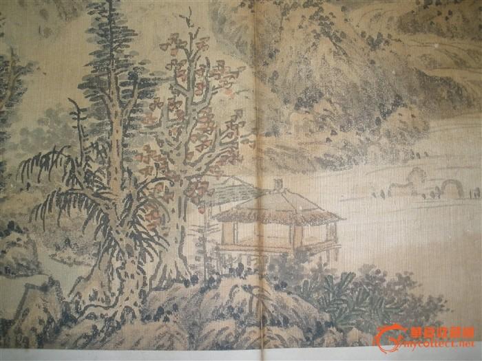 蓝瑛山水画图片