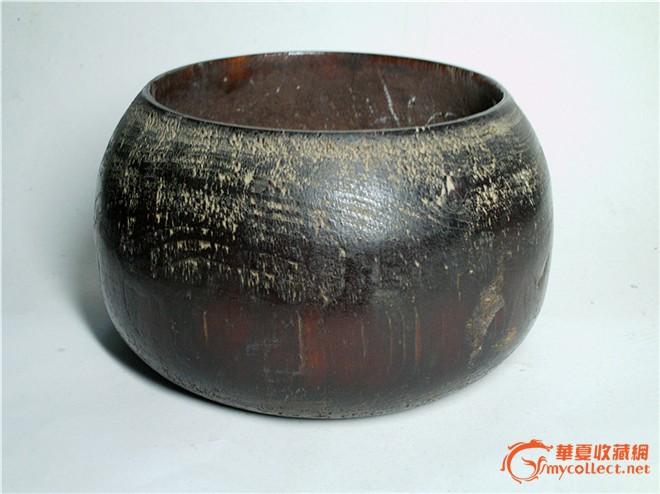 古代房用品木制围棋罐