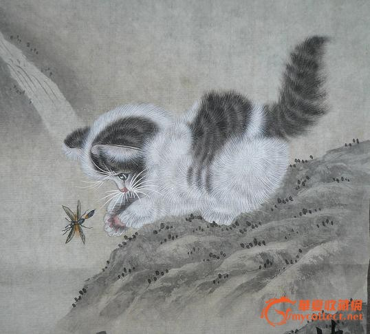 工笔猫画法步骤图