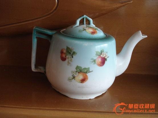 造型好看的手绘水果茶壶