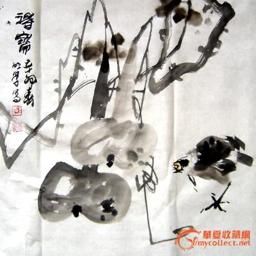 每日涂鸦——张明学国画新作 - 【绘画展厅】 - 中国书法家网图片