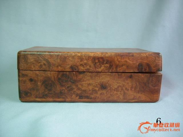 海南黄花梨影子木首饰盒