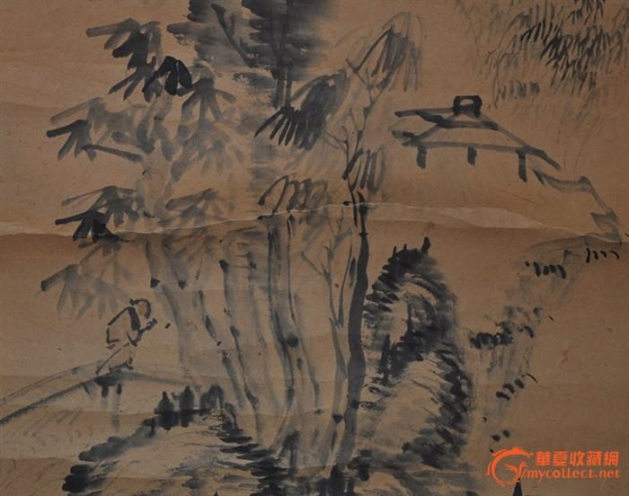 日本京都手绘地图