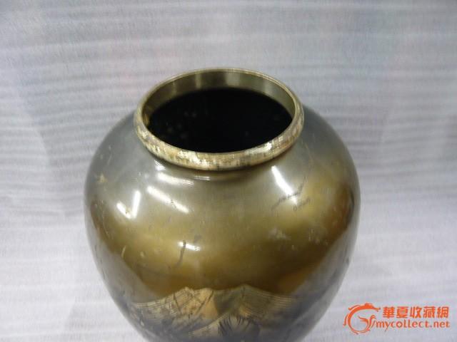 风景铜花瓶_风景铜花瓶价格_风景铜花瓶图片_来自藏友