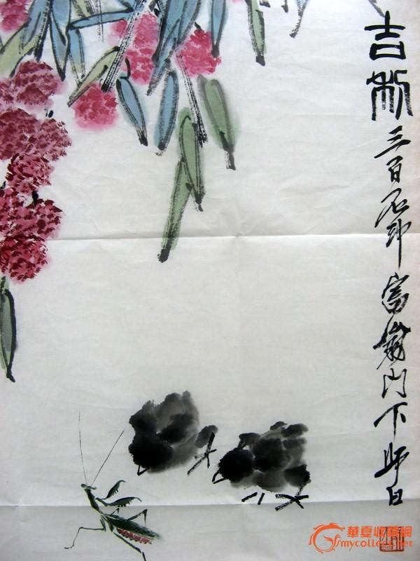 经典:齐派传人娄师白先生示范齐白石画虾过程,非常精彩
