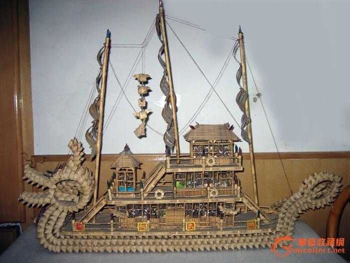 龙船模型设计图