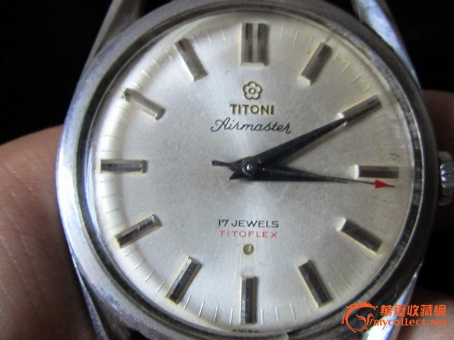 瑞士梅花手表