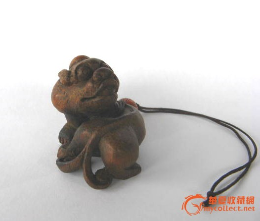 竹根雕刻的小动物