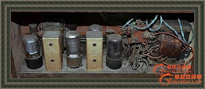 管二波段电子管收音机