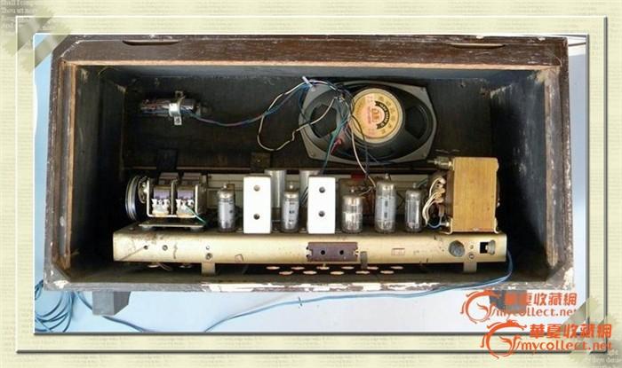 海燕d322型2波段6电子管收音机(上海101厂出品)
